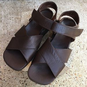 Cole Haan Leather Strappy Comfort Sandals